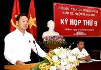 Kỳ họp thứ 9 HĐND huyện Gia Lâm khóa XIX
