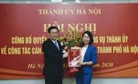 Đồng chí Bùi Huyền Mai giữ chức Bí thư Đảng Đoàn Liên đoàn Lao động Thành phố
