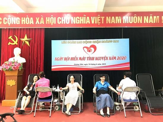 Thu được 126 đơn vị máu trong Ngày hội hiến máu tình nguyện năm 2020