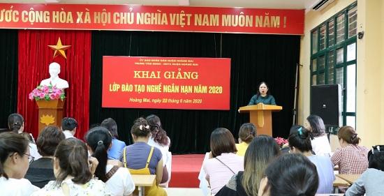 LĐLĐ quận Hoàng Mai: trang bị kỹ năng nghề nghiệp cho đoàn viên