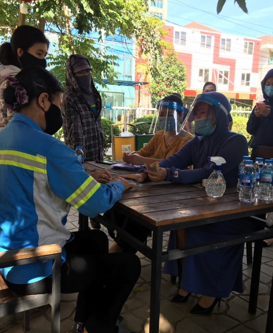 46 công nhân môi trường được trả nợ tiền lương