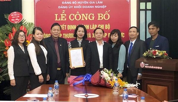 Gắn phát triển Đảng trong doanh nghiệp ngoài Nhà nước với thi đua - khen thưởng