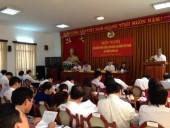 Khai mạc Hội nghị lần thứ 6 Ban Chấp hành Tổng LĐLĐ Việt Nam (khoá XI)