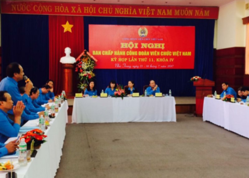 Hội nghị BCH Công đoàn Viên chức Việt Nam lần thứ 11