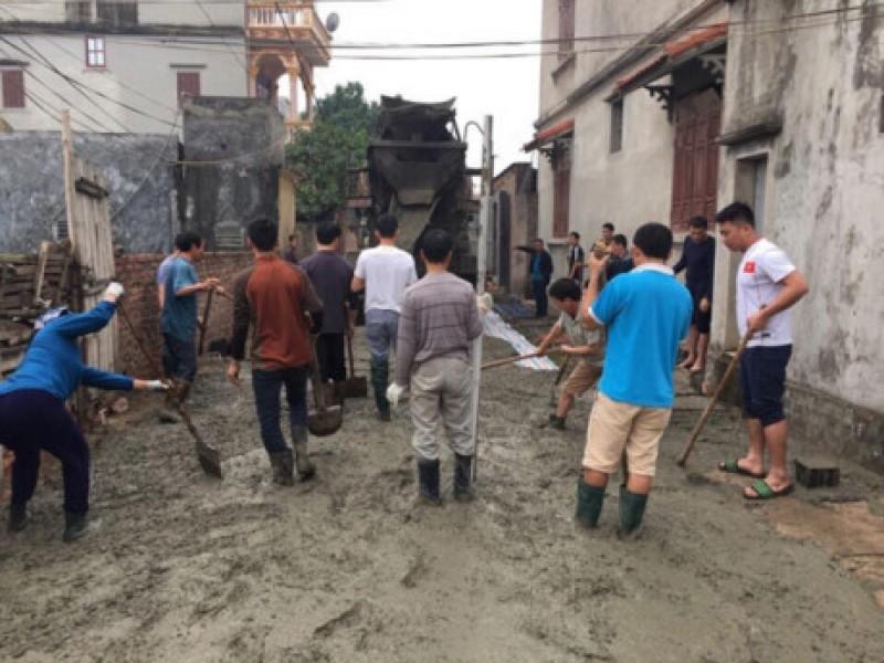LĐLĐ huyện Gia Lâm chung sức xây dựng nông thôn mới