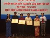 Tuyên dương 4 Công nhân giỏi năm 2017