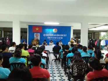 Gần 70% đơn vị tổ chức hội nghị CBCCVC, hội nghị NLĐ
