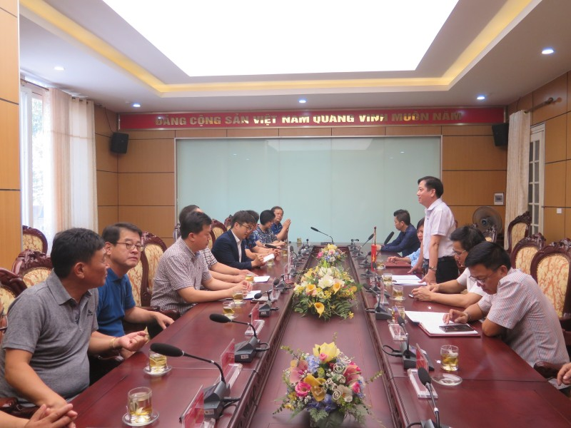 Đoàn Đại biểu Tổng LĐLĐ thành phố Seoul (Hàn Quốc) thăm và làm việc với LĐLĐ Thành phố