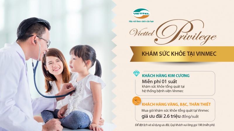 Viettel tri ân khách hàng thân thiết gói khám sức khỏe tại khách sạn 5 sao