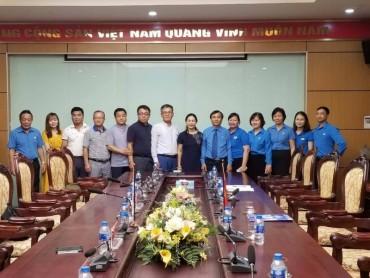 Liên hiệp Công đoàn tỉnh Gangwon Hàn Quốc thăm và làm việc tại Hà Nội