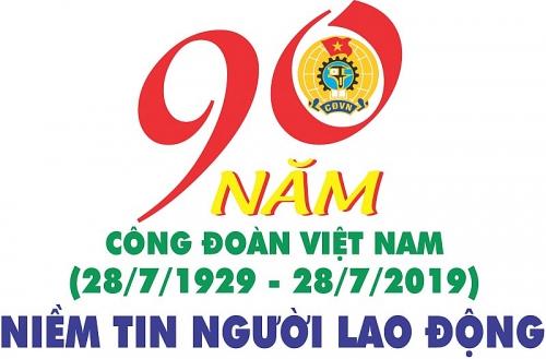 Đẩy mạnh tuyên truyền trực quan kỷ niệm 90 năm ngày thành lập Công đoàn Việt Nam