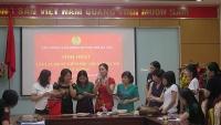 Sinh hoạt Câu lạc bộ nữ khoa học quý III