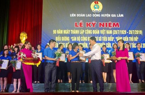 Long trọng kỷ niệm 90 năm ngày thành lập Công đoàn Việt Nam