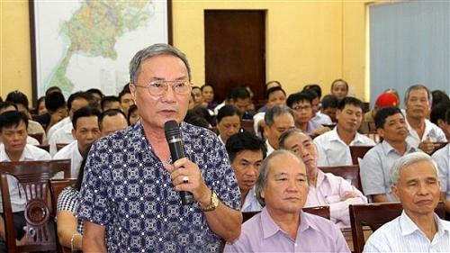 Đại biểu HĐND thành phố Hà Nội tiếp xúc cử tri huyện Gia Lâm