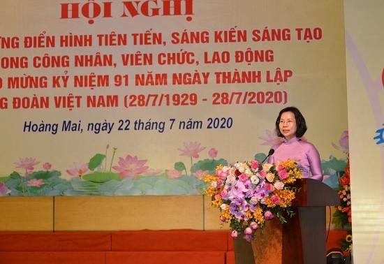 Đẩy mạnh thi đua, góp phần xây dựng quận Hoàng Mai ngày càng văn minh, giàu đẹp