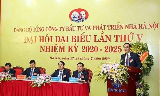 Đồng chí Trương Hải Long tái đắc cử Bí thư Đảng ủy HANDICO khóa V