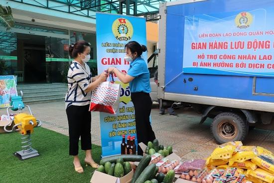 Quận Hoàng Mai đảm bảo đủ hàng hóa thiết yếu phục vụ người dân