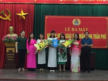 Ra mắt Nghiệp đoàn giáo viên mầm non Trần Phú, quận Hoàng Mai