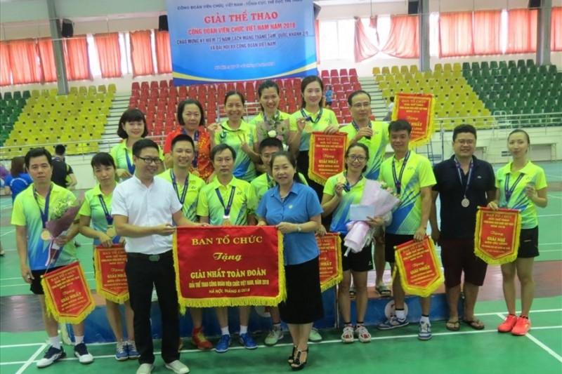 Sôi nổi  Giải thể thao Công đoàn Viên chức Việt Nam năm 2018
