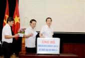 Huyện Gia Lâm phát động ủng hộ nhân dân bị thiệt hại do mưa lũ