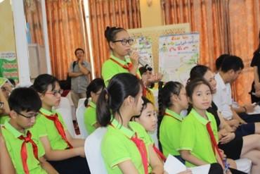 Trao thông điệp của trẻ em tới lãnh đạo Thành phố