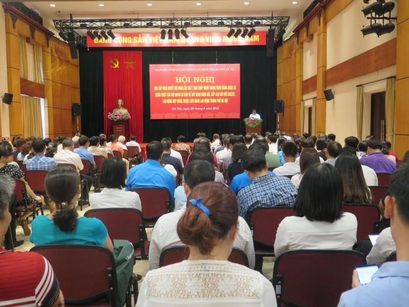 Quán triệt Nghị quyết Hội nghị lần thứ 7 Ban Chấp hành Trung ương Đảng (khóa XII)
