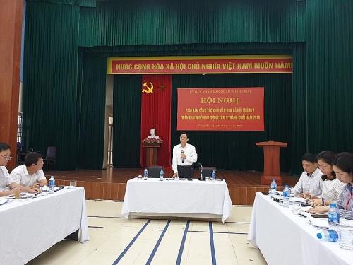 Quận Hoàng Mai:  Nhiều kết quả tốt trong các lĩnh vực văn hóa- xã hội