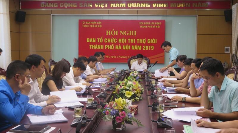 Hội thi thợ giỏi thành phố Hà Nội năm 2019 diễn ra vào đầu tháng 10