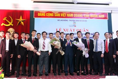 19 thí sinh Việt Nam tham dự Kỳ thi tay nghề thế giới lần thứ 45