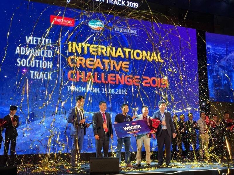 Đã tìm ra 3 đội chiến thắng Vòng chung kết Viettel Advanced Solution Track 2019