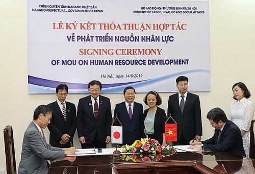 Thêm cơ hội cho thanh niên Việt Nam sang học tập và làm việc tại Nhật Bản