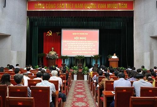 Quận Hoàng Mai: Chuẩn bị chu đáo, chất lượng Đại hội đảng bộ các cấp nhiệm kỳ 2020-2025