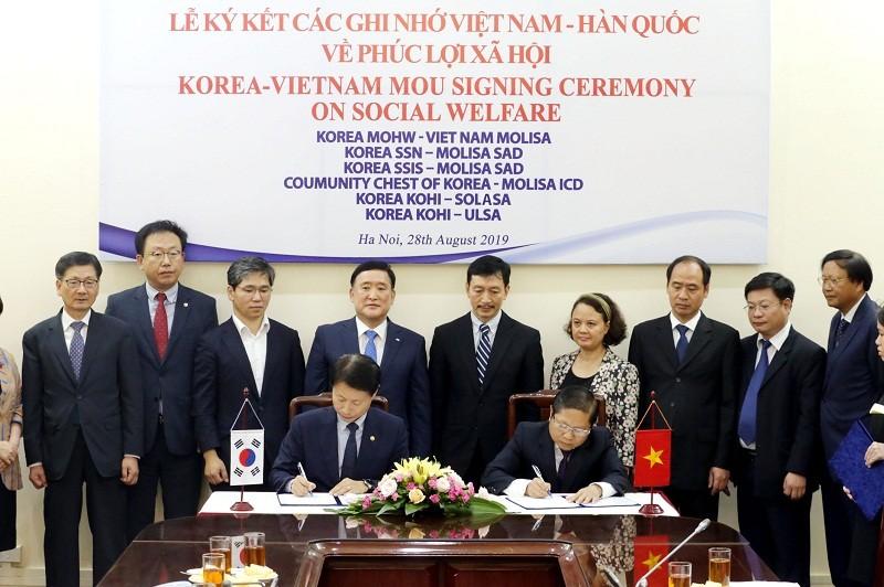 Việt Nam- Hàn Quốc: Hợp tác thúc đẩy các chính sách phúc lợi cho người dân