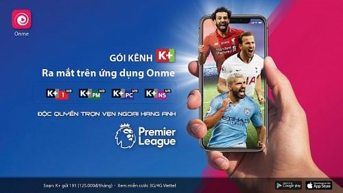 Viettel chính thức ra mắt chùm kênh K+ trên ứng dụng Onme