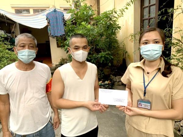 Hà Nội: Thêm nhiều trường hợp có hoàn cảnh khó khăn được hỗ trợ an sinh