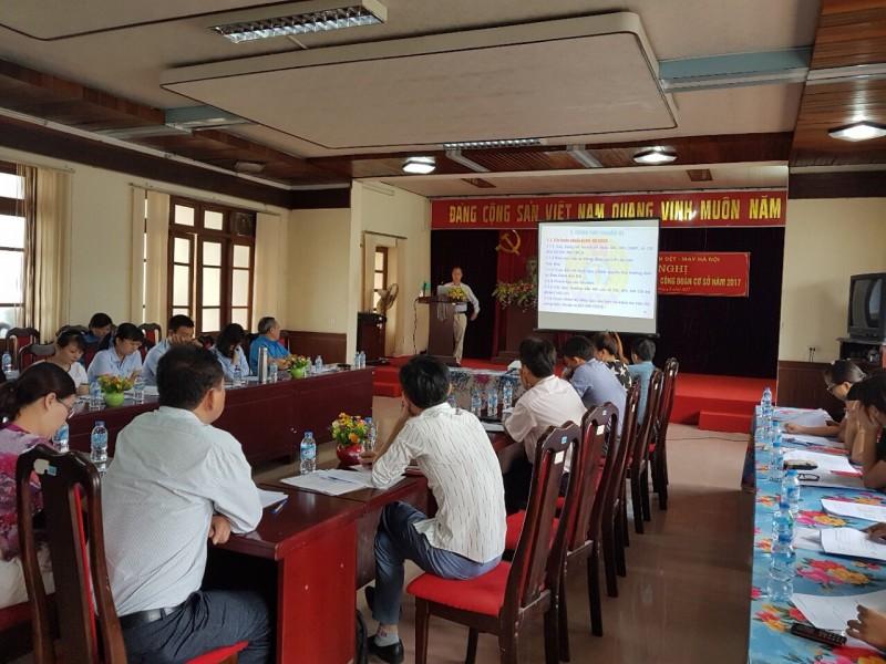 Tập huấn kỹ năng tổ chức Đại hội, Hội nghị CĐCS