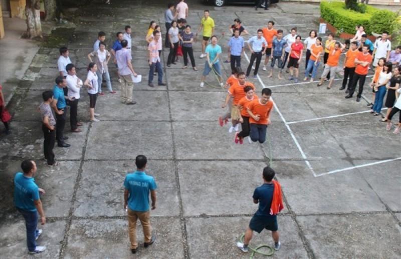Sôi nổi giải thể thao trong CBCCVC cơ quan UBND huyện Gia Lâm