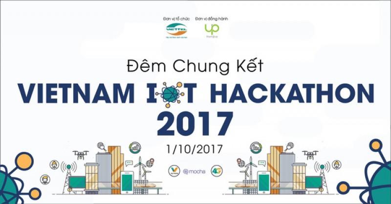 18 đội lọt vào vòng chung kết Vietnam IOT Hackathon 2017
