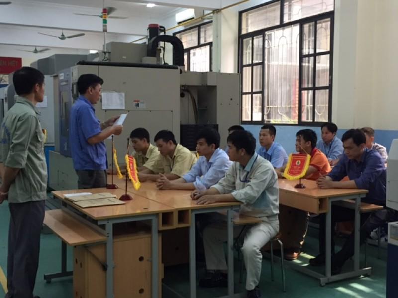 174 thí sinh tham gia hội thi thợ giỏi thành phố Hà Nội năm 2017