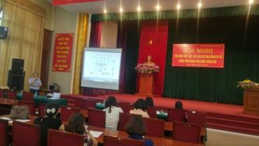 Công đoàn Viên chức Thành phố Hà Nội phổ biến pháp luật cho cán bộ Công đoàn cơ sở