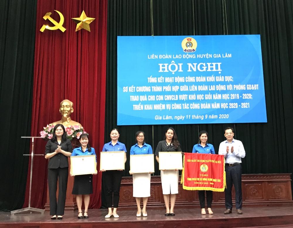 Tổng kết hoạt động công đoàn khối trường học năm học 2019- 2020