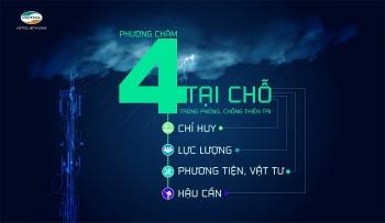 Viettel đảm bảo cao nhất thông tin liên lạc trong bão số 5
