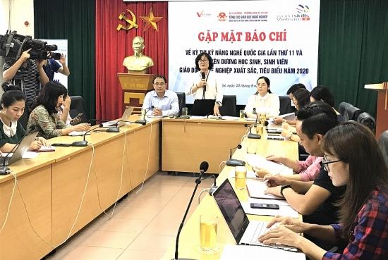 505 thí sinh tham dự Kỳ thi Kỹ năng nghề quốc gia lần thứ 11