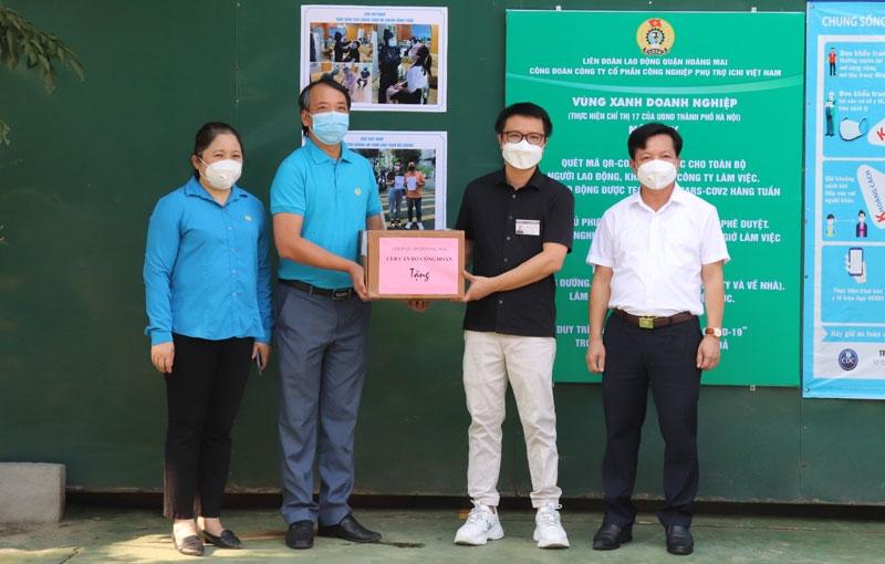 Liên đoàn Lao động quận Hoàng Mai đã có 9 ''Vùng xanh doanh nghiệp''
