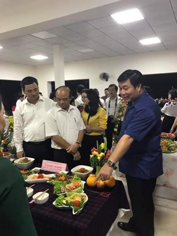 Hội thi nấu ăn công đoàn cơ quan Dân Đảng quận Hoàng Mai