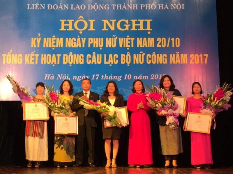 LĐLĐ Thành phố Hà Nội kỷ niệm ngày thành lập Hội LHPN Việt Nam