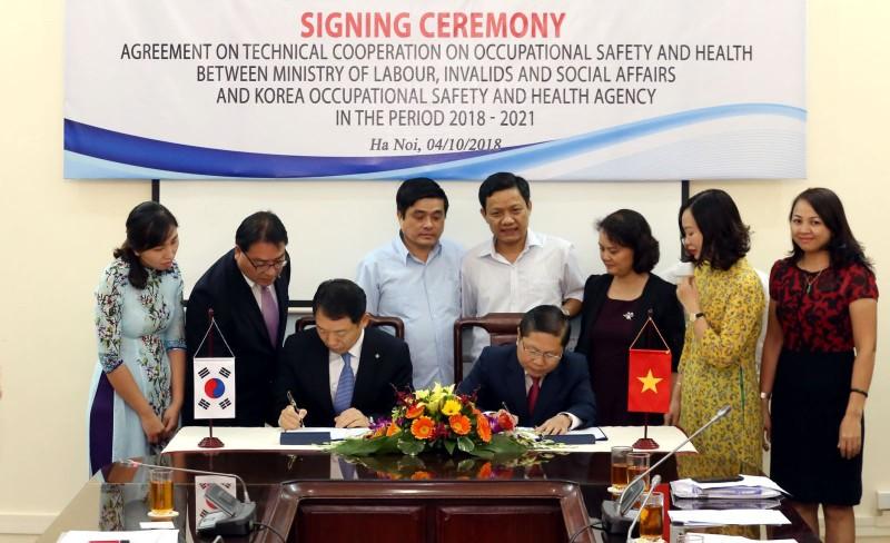 Việt Nam và Hàn Quốc hợp tác thúc đẩy văn hóa an toàn tại nơi làm việc