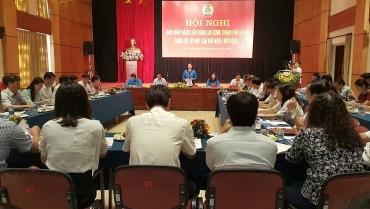 Hội nghị Ban chấp hành LĐLĐ Thành phố khóa XVI, kỳ họp thứ 5 (mở rộng)