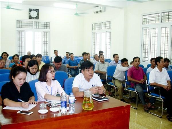 35 học viên theo học lớp dạy nghề nuôi cá thương phẩm nước ngọt
