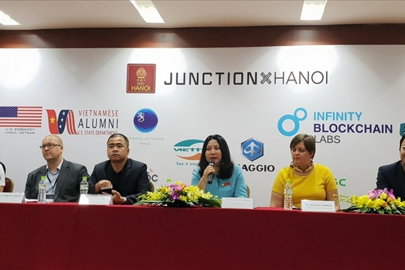 junctionxhanoi 2018 thuc day suc sang tao khong ngung cua cac ban tre